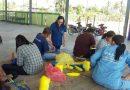 โครงการศูนย์ฝึกอาชีพชุมชน(พัฒนาอาชีพระยะสั้น) วิชาการถักเปลจากเชือกไนลอน
